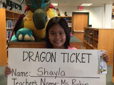 Week 1 Dragon Ticket winner