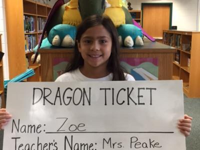 Week 2 Dragon Ticket winner